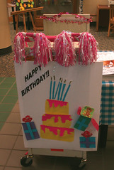 Book Cart Art (Huntsville Madison County Public Library) Tags: library libraries happybirthday mds 2007 bookcart huntsvillealabama 20thbirthdaycelebration 365libs huntsvillemadisoncountypubliclibrary amyquallsmcclure hmcpl