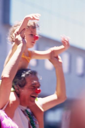 No Carnaval, todo mundo brinca, todo mundo é palhaço e se diverte !!! por Rodolfo Nunez, no Flickr