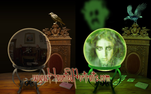 Haunted Mansion Style quotMadame Tombsquot by wwwhauntedportraitscom by hauntedportraits