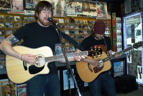 The Reason live! in-store performance at Music Trader on April 21 2007