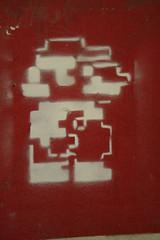 Mario Bros (SpUtNik 23 -RUR und MKZ) Tags: street brussels streetart art stencil bruxelles mario bros pochoir bxl