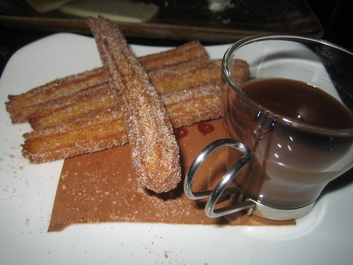 Churros con Chocolate (by cchen)