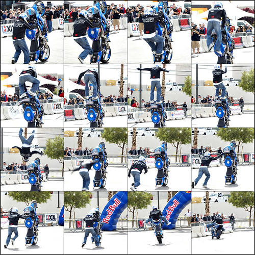Josh Clem Backflip Sequence