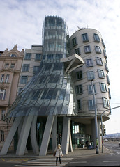 The Establishing Shot: DANCING HOUSE BY FRANK GEHRY - PRAGUE , CZECH REPUBLIC (Craig Grobler) Tags: castle beer easter design europe czech prague theatre spires einstein gothic synagogue praha gehry moo cocktail calder boutique craig jewish bond bourne amadeus missionimpossible xxx lennon kafka newtown dumplings casinoroyale charlesbridge oldtown damon wagner mozart bohemia vltava bohemian absinth golem easterneurope tyn wenceslas petrin vitus aria czechoslovakia dongiovanni kampa coda kundera faust karluvmost loreta fromhell rudolfinum josefov ufleku goulash powdergate malastrana rated hoteljosef littlequarter dancinghouse lesserquarter trdlo grobler ckc1ne backwardclock tretters knedelik zlatekonvice craiggrobler craigcalder