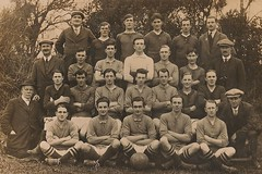 Yealm United Football Club (Richard and Gill) Tags: old sport club vintage football team familyhistory soccer grandfather devon genealogy players ancestors squire yealm nossmayo southhams newtonferrers hubertwilliamstevensonsquire yealmunited hisbent