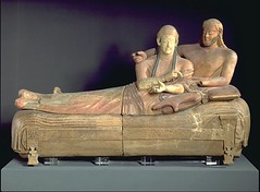 Ancient Love (SARAH RA RA) Tags: love ancient sarcophagus etruscan