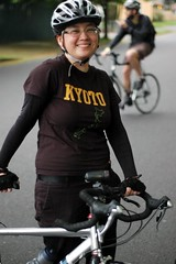 Selena from Chris King at the bike master plan ride
