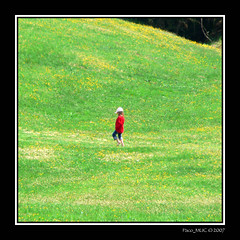 Blonde Hair, Blue Jeans (Paco_MUC) Tags: red alps green rot topv111 wiese grn alpen bluejeans blondehair oneyear stanton barfus mittenwald chrisdeburgh 333views interestingness205 i500 35faves pacomuc karwendelgebirge top20green exploremay52007 top30green