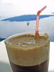 (hugo n.) Tags: coffee caf drink fresh santorini greece cyclades thira 2007 frappe frap