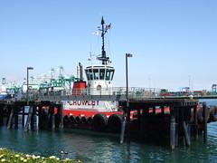 DSCF1412 (mirtai) Tags: ocean california ca boat pacificocean tugboat sanpedro crowley railfestival tugboatalley theportoflosangeles
