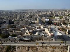 Aleppo Viewed From Citadel
