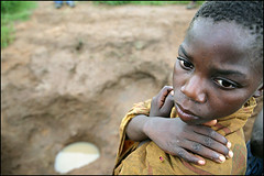 the water he drinks - Malawi (Maciej Dakowicz) Tags: poverty africa travel boy people water relief help aid hunger malawi ngo thp humanitarianism thehungerproject 5d365