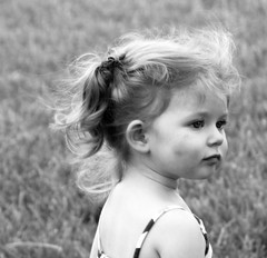 The Look (Little Laddie) Tags: portrait girl children blackwhite child monochromatic incomparable 24hoursofflickr tribehorizon