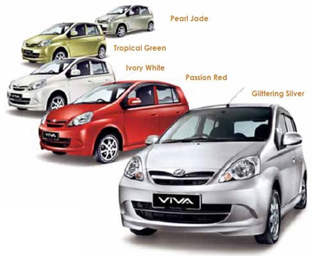 Perodua Viva Colours