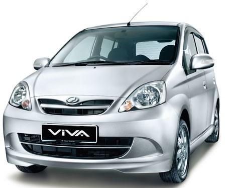 Perodua Viva Front