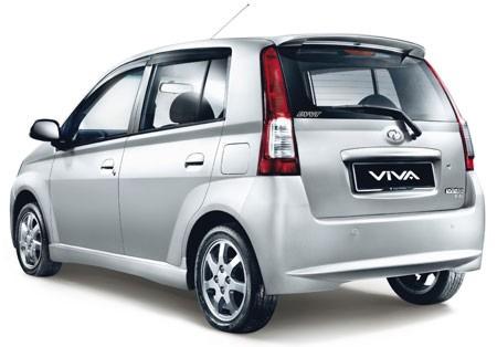 Perodua Viva Rear