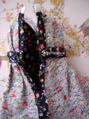 Inside dress detail back