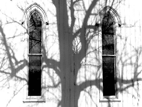 Maple St. Chapel - Shadowy Cross