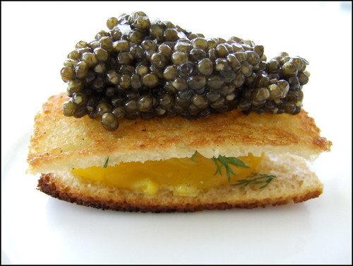Jean Georges (New York) - Caviar, Soft-cooked Egg, & Brioche