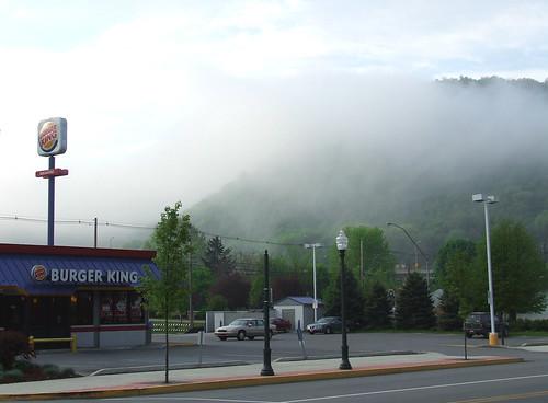 landscape with Burger King