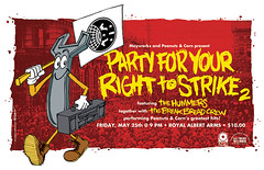 Party For Your Right To Strike 2