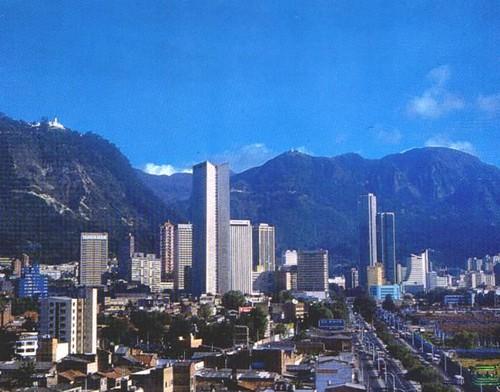 Vista del centro - Bogotá (Colombia) por STUDY TOURS Colombia.