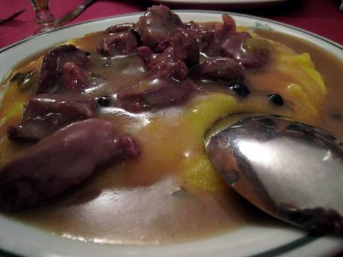 Camoscio - chamois with polenta