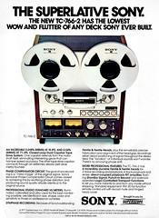 Sony TC-766-2 (Al Q) Tags: sony tape recorder reel