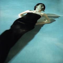 """Untitled"" (theCameraClicks) Tags: blue woman black film water girl female agua aqua underwater kodak liquid blackdress honorablemention kodake100g photographersforum 2008photographersforumbestofcollegephotography"