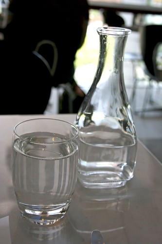 Water glass and carafe