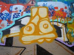 5/16/07 Free Wall (sixheadedgoblin) Tags: washington stencil spray olympia zion publicart olympiawashington plop freewall