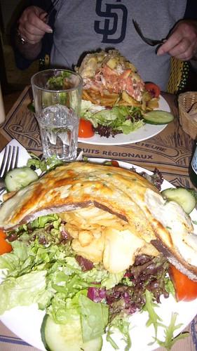 Chez Prosper salad chevalier