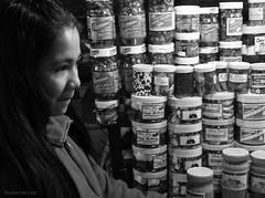 baguio sweets (jobarracuda) Tags: vendor salesgirl sweets baguio peanutbrittle baguiopublicmarket summercapital philippines pinay filipina jobarracuda panasoniclumix lumix dmcfz50 fz50