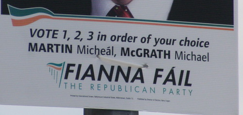 Fianna Fáil - Back With A Bang! Thanks To All Those Former FF-Turned-FG Voters