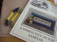 A Diminutive Dutch Sampler