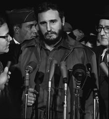 No Known Restrictions: Fidel Castro Arrives in Washington, D.C. by Warren K. Leffler, 1959 (LOC) - by pingnews.com