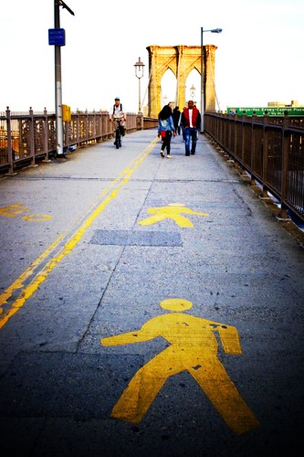 Lomofied Brooklyn Bridge