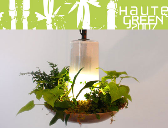 HauteGREEN 2007, xDesign's Plant Lamp Air Filter