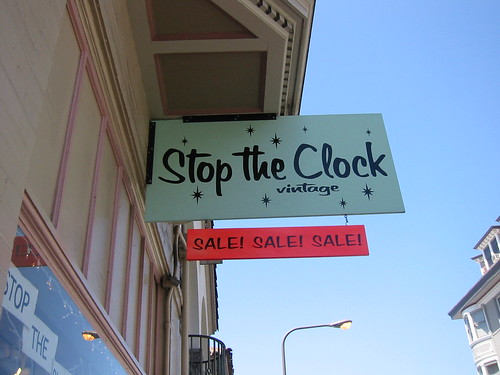 stop the clock sign