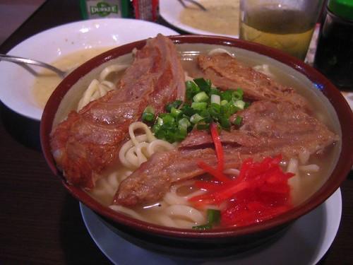 5.16晚餐-豚骨拉麵