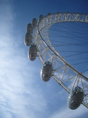 Eye to the world (CaptiveInnocencePhotography) Tags: sky london eye westminster londoneye britishairways embankment pods ishflickr