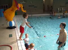 Boris zwemles