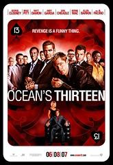 Colección de pósters de 'Ocean's thirteen'