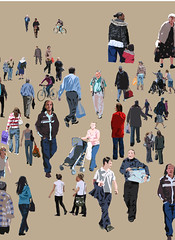 People on the move, Reading by Martin Beek