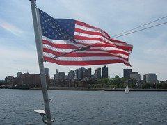 Boston from USS Cassin Young