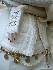 Chanel Glove (ggnyc) Tags: nyc white newyork window manhattan boutique glove accessories chanel madisonavenue uppereastside