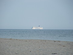 PolFerries Passenger Ferry , Hel 26.05.2007 (szogun000) Tags: hel helpeninsula poland sea beach ship ferry pomorskie pomorze pomerania fujifilm finepix s3500 polska polferries