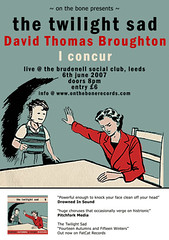twilight sad poster (Nath Brudenell) Tags: music twilight sad leeds bands gigs brudenell broughton iconcur