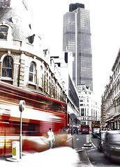 Mobile City (BombDog) Tags: blur bus london girl mobile wow photography topf75 unitedkingdom topf125 topf100 topv75 topv1000 jonlucas jonathanlucas