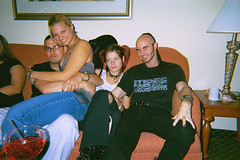 Larry, Nicole, Sierra, and Todd (icequeen057) Tags: 2003 party marriott nicole florida miami sierra hyde larry todd ea loaded 057 electroalliance exzakt nicoleginnard